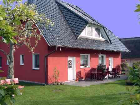 Unterkunft Ferienwohnung Ostsee - Halbinsel Darss - Haus Schu