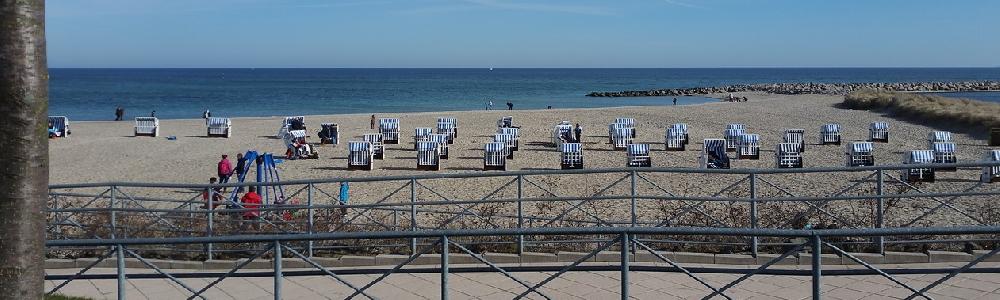 Strand und Promenade Kühlungsborn