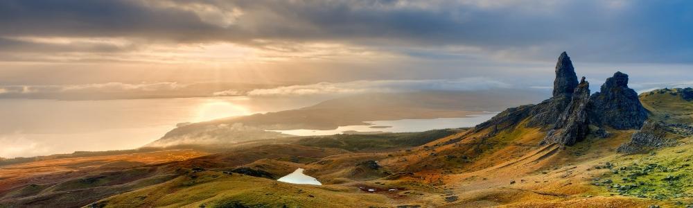 Unterkunft in Schottland